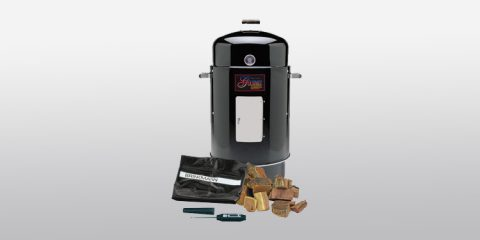 Brinkmann 810-7080-8 Gourmet Smoker and Grill