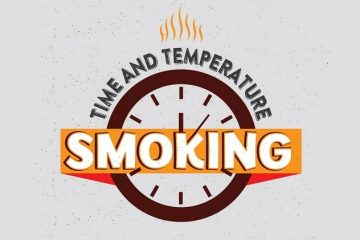 Electric smoker smoking times & temps chart