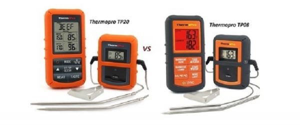 ThermoPro TP20 vs TP-08 and The Best BBQ Smoker Thermometers