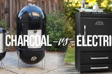 Electric and Charcoal Smoker