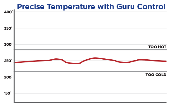Temperature Graph with the DigiQ