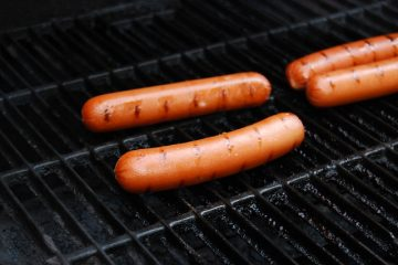 Hotdogs On The Grill