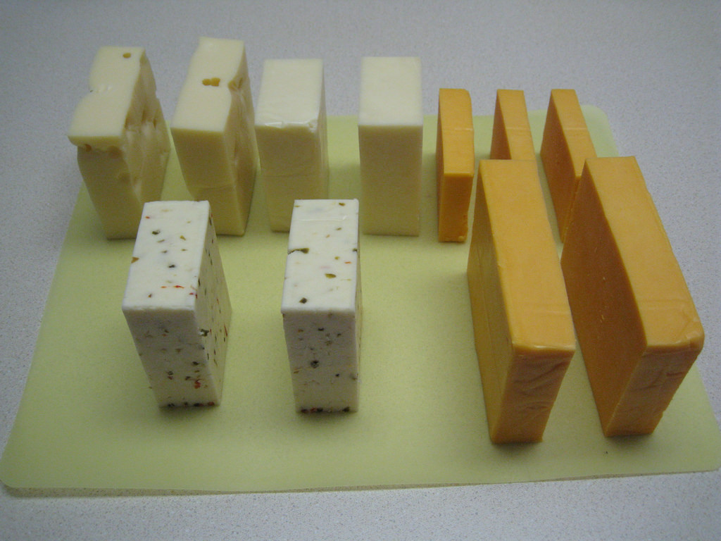 Different Type Of Cheese