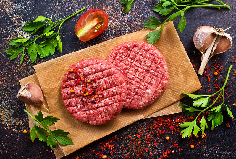 Ground Meat With Ingredients