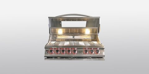 Cal Flame BBQ13P04 4 Burner Built In Grill