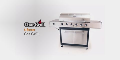 Char Broil 3-4-6-Burner Grill Reviews