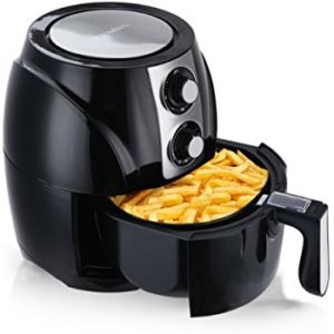 Cusimax 1300W Electric Air Fryer with 3 QT Capacity