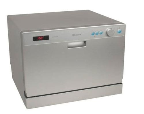 EdgeStar-DWP61ES-6-Place-Setting-Countertop-Portable-Dishwasher-Silver-min