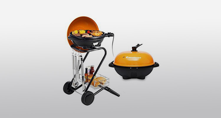 Excelvan Portable 1350w Electric Grill Review Best