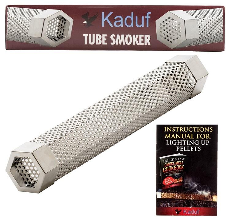 Kaduf Pellet Tube Smoker 12 For Smoking Best Smokers Info