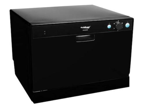 Koldfront-6-Place-Setting-Portable-Countertop-Dishwasher-Black-min