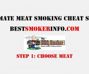 Meat Smoking Cheat Sheet