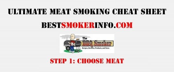 Meat Smoking Cheat Sheet