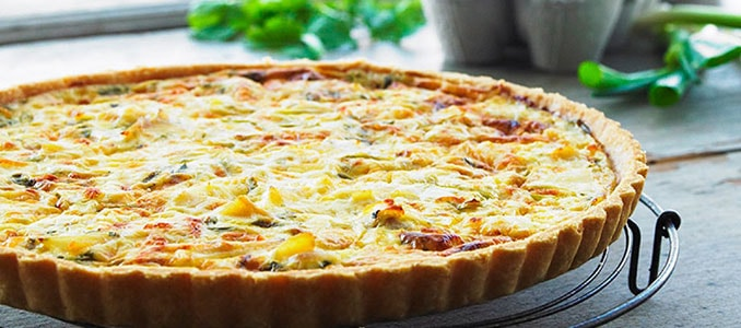 SAFFRON-TART-SPRING-ONION-AND-SMOKED-HADDOCK