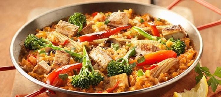 Smoked Tofu Paella