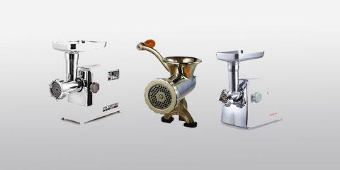 Types of meat grinders