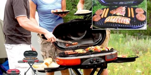 Why Not Go Camping with the Coleman BBQ Set