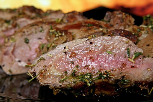 Meat With Herbs